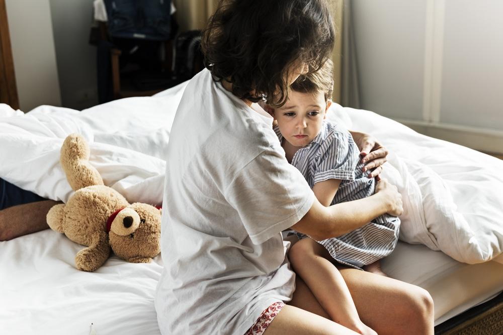 consoler enfant cauchemar
