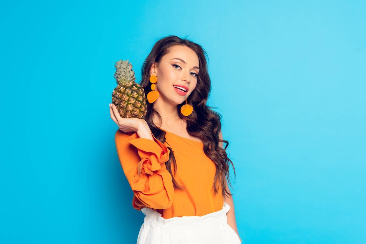 accessoires ananas
