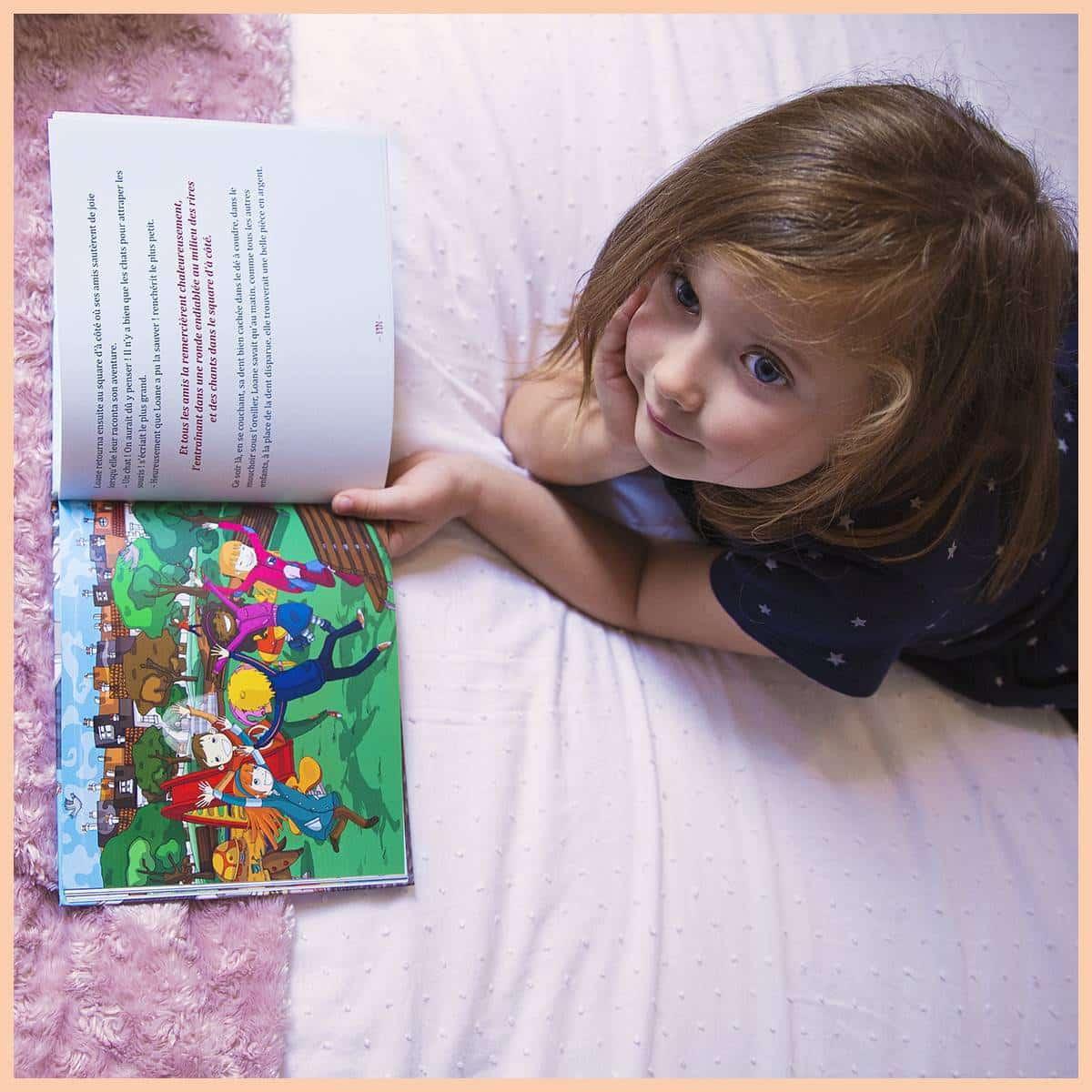 livre personnalisé prénom Les Enfants Roy