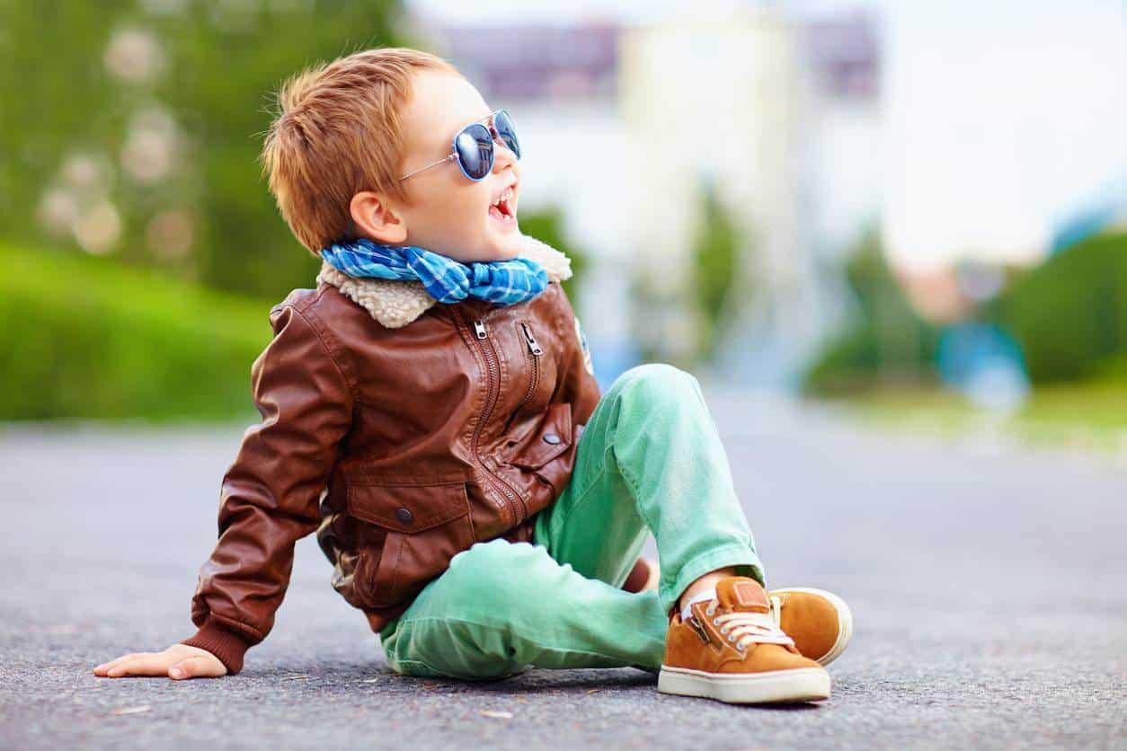 chaussures en cuir pour enfants