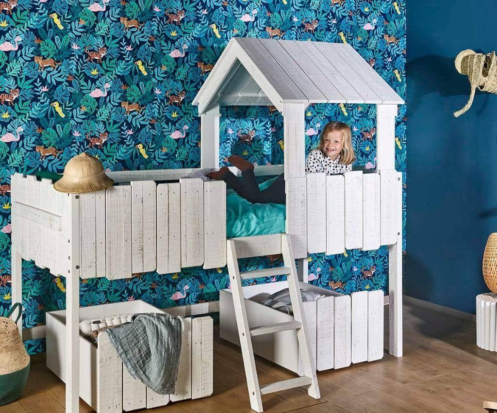 aménager lit-cabane enfant